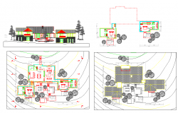 Multi family house drawing