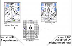 Duplex home design
