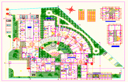 Hospital plan DWG  file