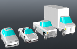 3D Transport vehicles