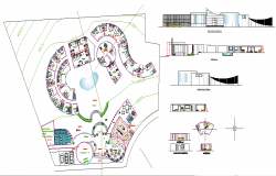Tourist hotel plan detail file