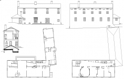 Elevation Detail for House