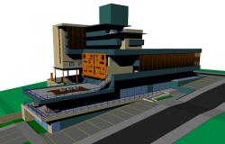 Modern 3d apartment
