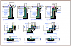 Structure design DWG