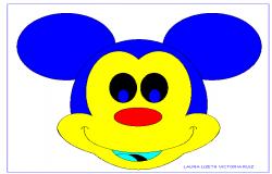 2D Micky Mouse