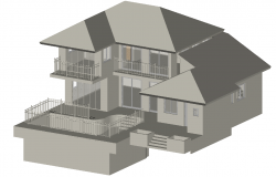 3D Bungalows design