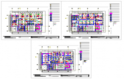Hospital With Office plan