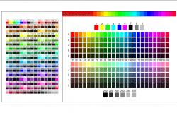Colour shade hatch for autocad