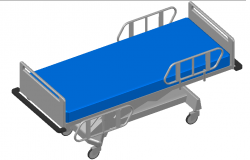 Hospital Bed Design Detail