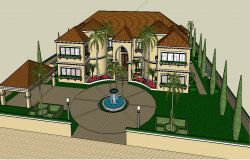 3D  bungalow project