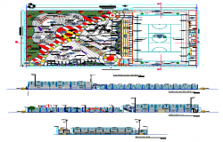 Sport Ground & Play Ground Lay-out & other Design