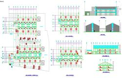 Large and Modern Hotel plan
