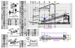 Conveyor Belt DWG file