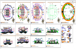 Amphitheatre dwg file free download - Autocad drawing,