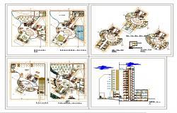 Modern 4 Star Hotel Design