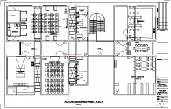 Second floor plan Environmental engineering laboratories design