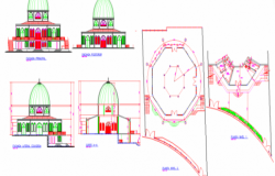 Mosque layout plan