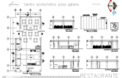 Restaurant design detail