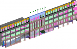 3D Elevation building