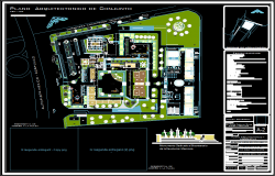 Commercial plaza dwg