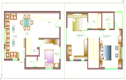 House interior Lay-out