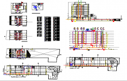 Hotel sanitary plumbing detail Autocad file