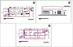Restaurant design plan