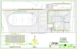 Cerco interior detail and design in autocad files