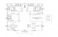 A Simple Floor plan which can be customized.