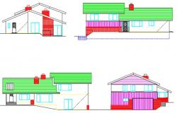 AR House 1 elevations