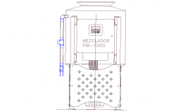 ATM machine elevation layout file