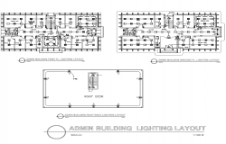 Admin Building Lighting Layout