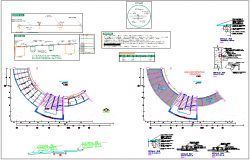 Administration area light coverage plan and construction detail view dwg file