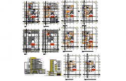 Administrative center dwg file
