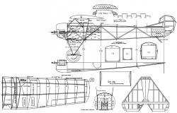 Aircraft Section CAD drawing
