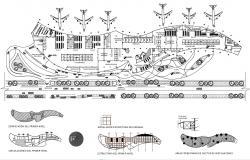 Airport Terminal Building Plan
