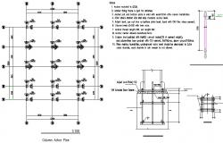 Anchor column detail dwg file