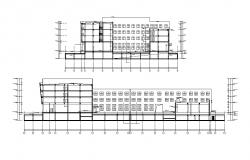 Commercial Building CAD Drawing