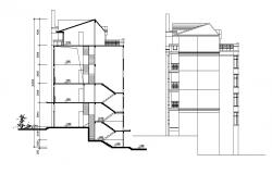 Apartment Building Free DWG File