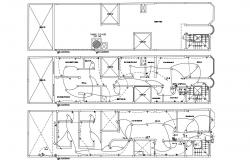 Apartment Electrical Plan Design AutoCAD Drawing
