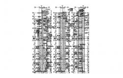 Apartment Floor Section View AutoCAD File