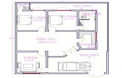 Apartment Floor dwg