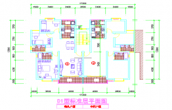 Apartment Interior Design & Detail Planing Lay-out