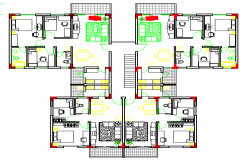 Apartment Lay-out Design Plan