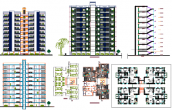 Apartment types and layout details