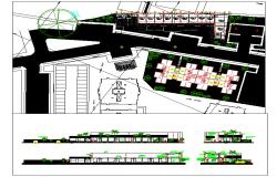 Apartment Plan & Elevation architecture Design