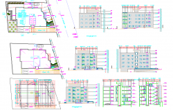 Apartment Project dwg file