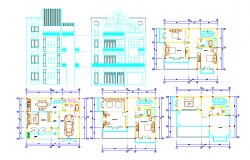 Apartment architecture design plans