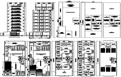 Apartment detail DWG file