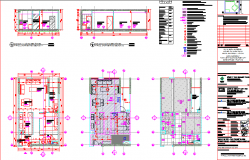 Apartments furniture layout and elevations Detail Ba